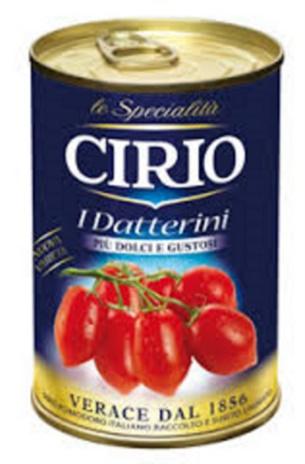 DATTERINI CIRIO 12x0,400