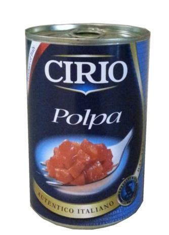 POLPA POMODORO CIRIO 12x0,400