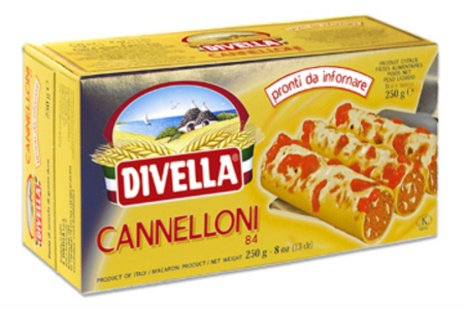 CANNELLONI SEMOLA N.84 24x0,25