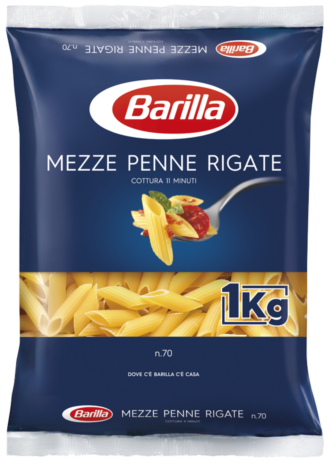 MEZZE PENNE RIGATE Kg.1x15