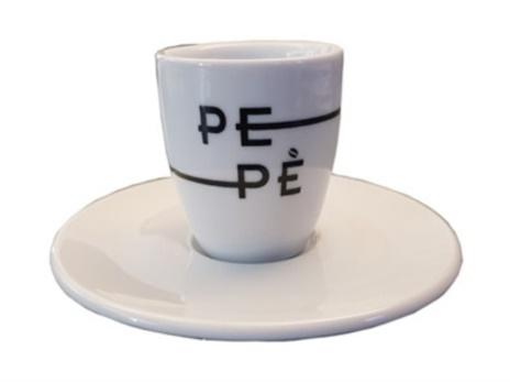 TAZZINE PEPE' CAFFE' 6x1