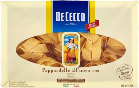 PAPPARDELLE UOVO 08x0,500
